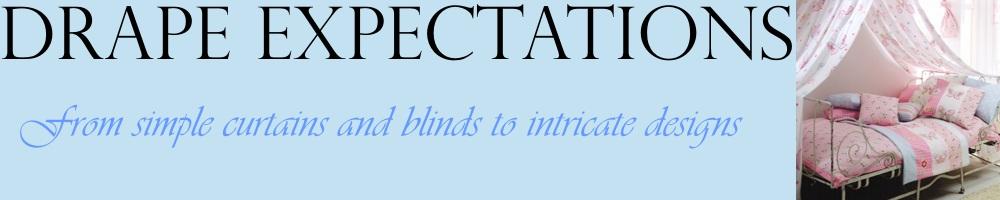 Drape Expectations, site logo.