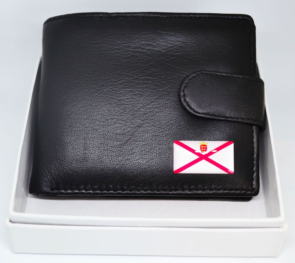 JERSEY FLAG LEATHER WALLET