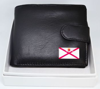 JERSEY FLAG LEATHER WALLET WAS £15.95 NOW £10