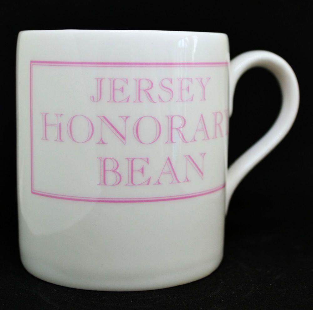 JERSEY HONORARY BEAN Mug in Pink