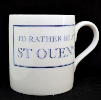 I'd Rather be at St Ouens Mug in Blue