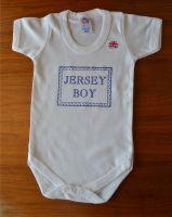 JERSEY BOY BODYSUIT 0-3 MONTHS