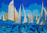 Gorey Regatta by Kathy Rondel - AVAILABLE TO ORDER NOW