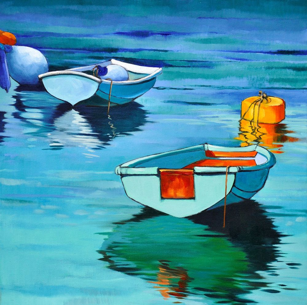 2 Jersey Boats by Kathy Rondel