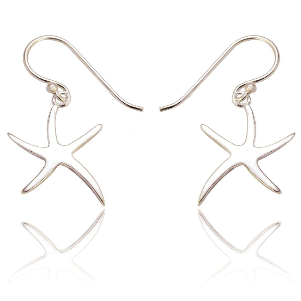 Miriam Slim Starfish Earrings