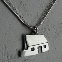 The White House Pendant by Lisa Le Brocq - Small 15mm