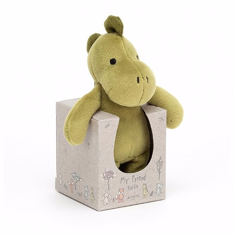 My Friend Dino Rattle by Jellycat