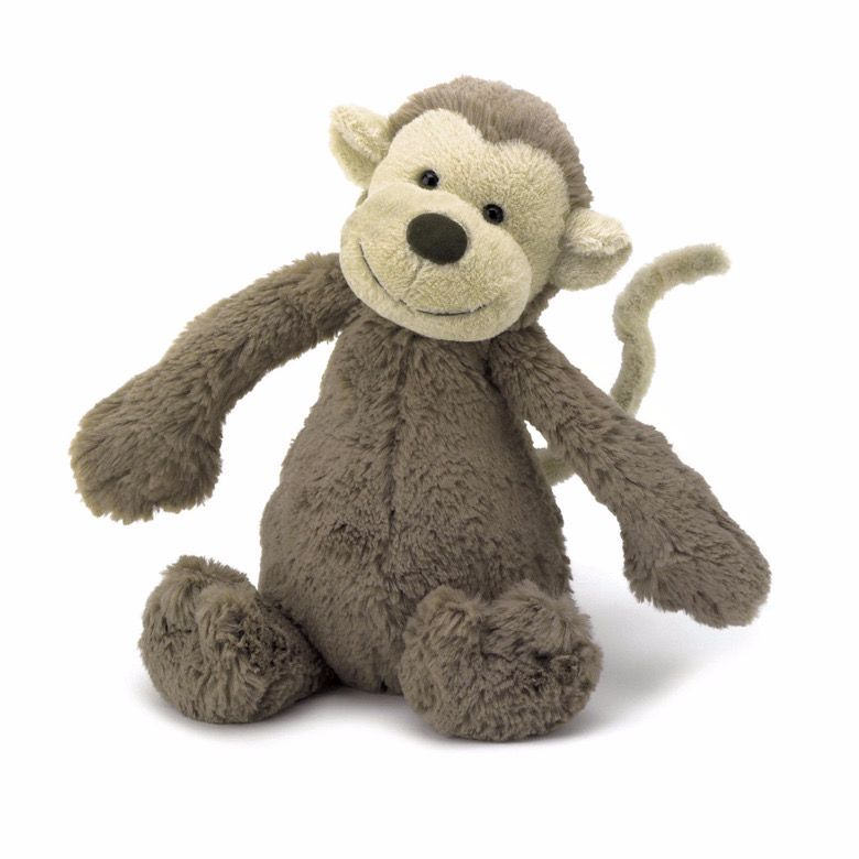 Bashful Monkey Small by Jellycat