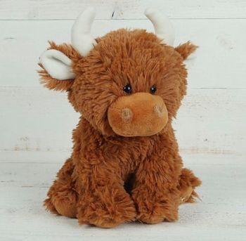 Fluffy Jersey Cow Small by Jomanda