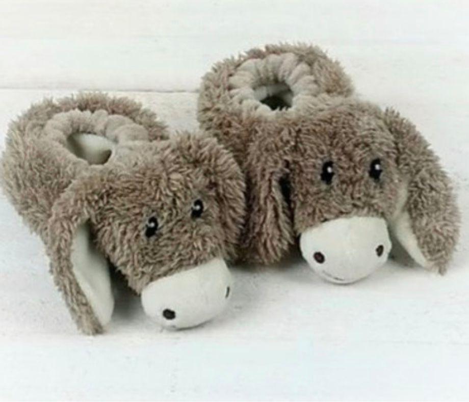 Donkey Baby Slippers by Jomanda