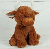 Fluffy Jersey Cow Large by Jomanda