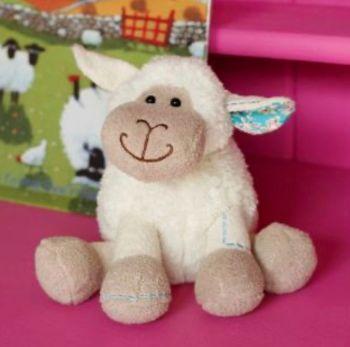 Sitting Sheep Small by Jomanda