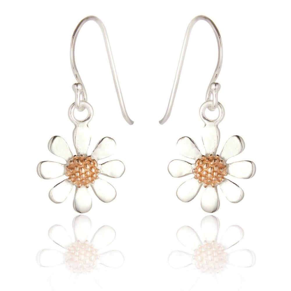 Daisy Drop Hook Earrings