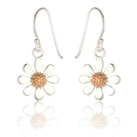 Daisy Drop Hook Earrings