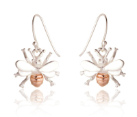 Bella Bee Drop Earrings