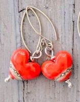 Shoreline Heart Earrings - More Colours Available