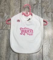 Jersey Map Bib White / Pink Print