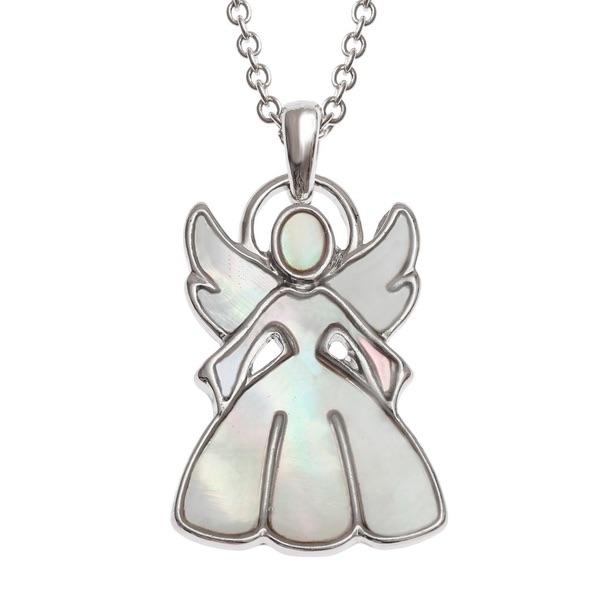 Pearl Angel Pendant