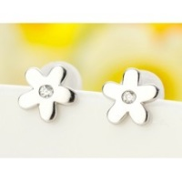 Tiny Flower Ear Studs