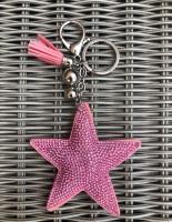 Sparkly Star Keyring