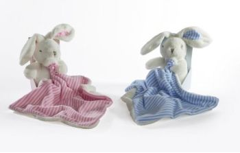 Bunny with Comforter 2 Colours WAS  £13.95 NOW £10.00