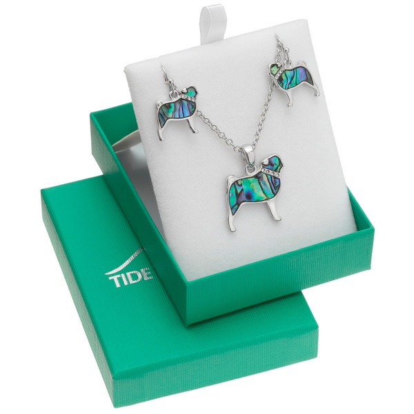 Tide Paua Shell Earring & Necklace Sets