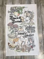 Black Butter Tea Towel WAS £4.95 NOW £3.50