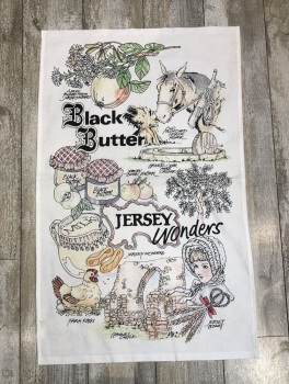 Black Butter Tea Towel