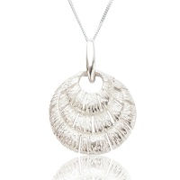 Annabel Silver Shell Pendant