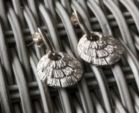 Annabel Silver Shell Drop Earrings
