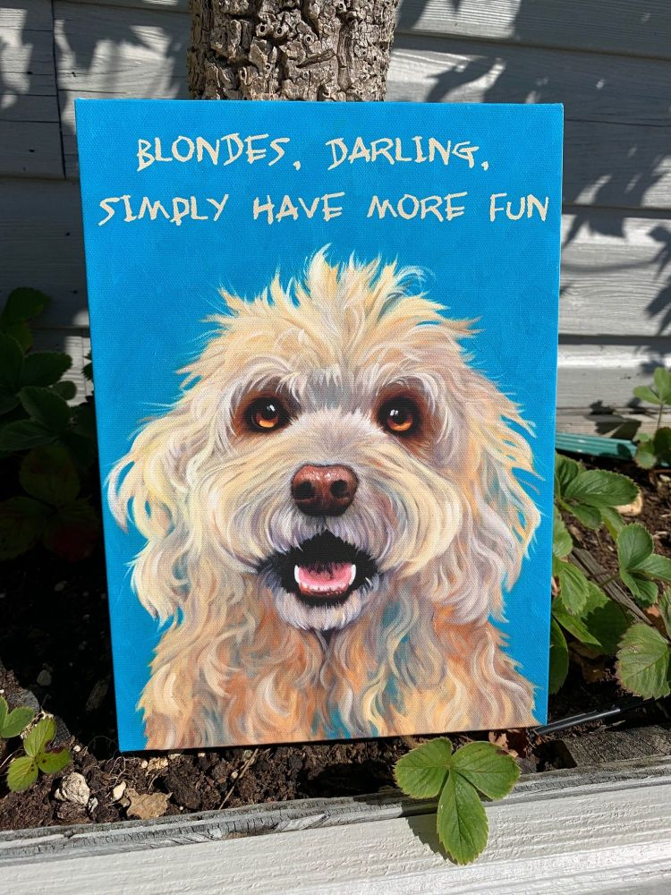 Blondes Darling - By Kathy Rondel