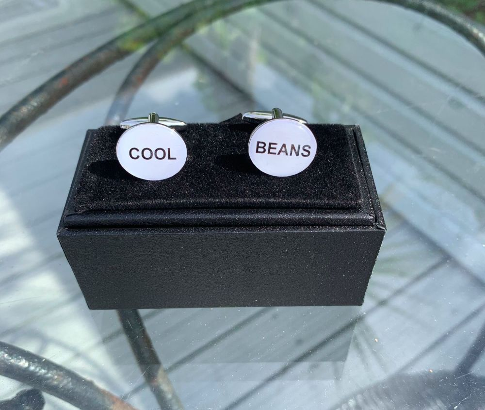 PERSONALISE YOUR OWN CUFFLINKS