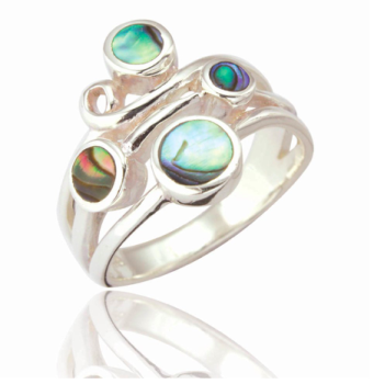 Aisha Scatter Stone Ring