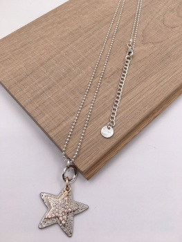 Double Star Pendant