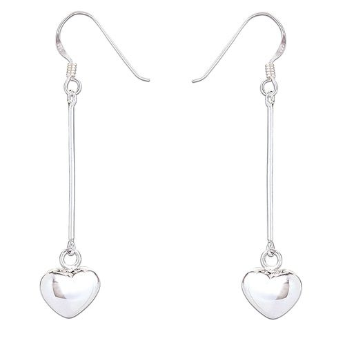 Sienna Heart Drop Earrings