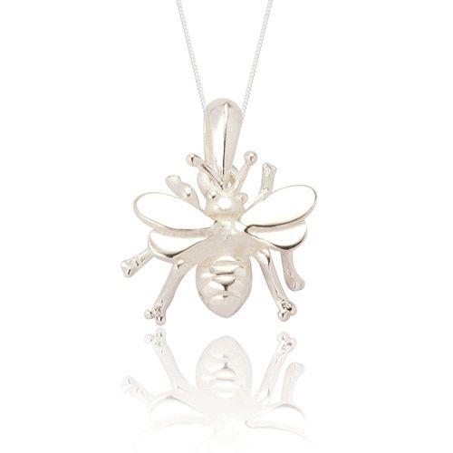 Bella Bee Pendant -Silver