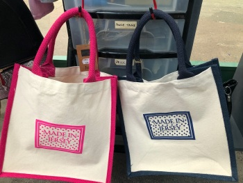 Made In Jersey Square Tote Bag