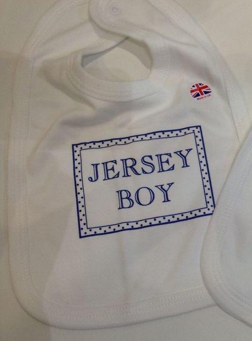 Jersey Boy Bib
