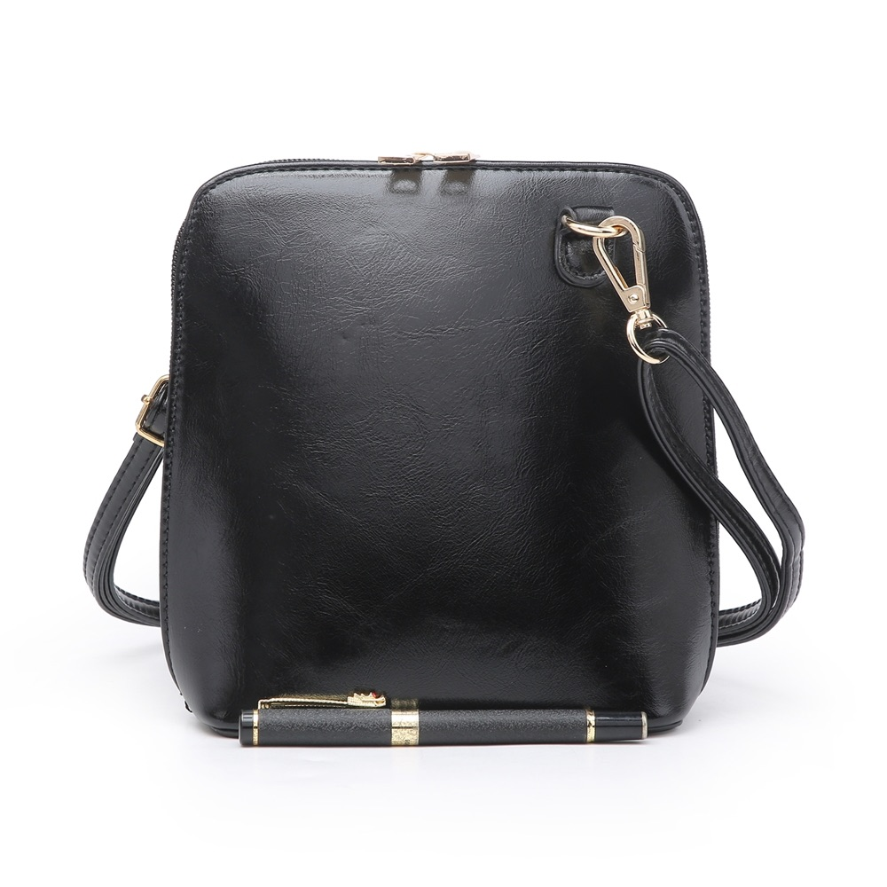 Small Cross Body Bag Black - MORE COLOURS AVAILABLE
