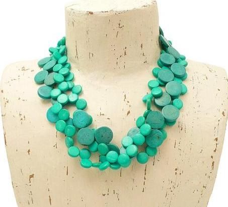 Cascade Necklace Turquoise - MORE COLOURS AVAILABLE