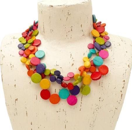 Cascade Necklace Multi - MORE COLOURS AVAILABLE
