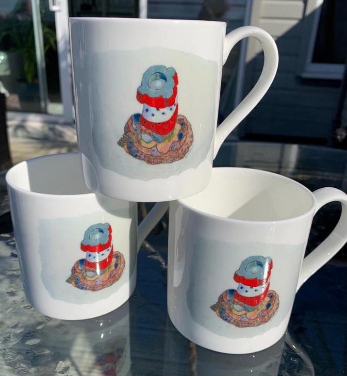 Archirondel Mug by Ian Rolls