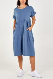 Tiered Midi Smock Dress - MORE COLOURS AVAILABLE