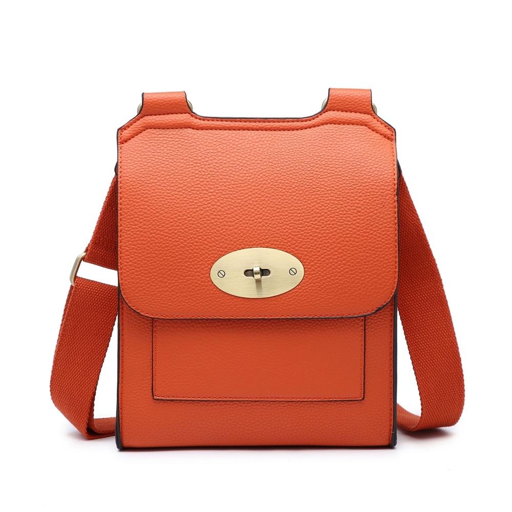 Messenger Cross Body Bag Large Orange - MORE COLOURS AVAILABLE