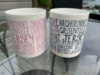 Jersey Beaches & Parishes NEW CHUNKY Mug  3 COLOURS