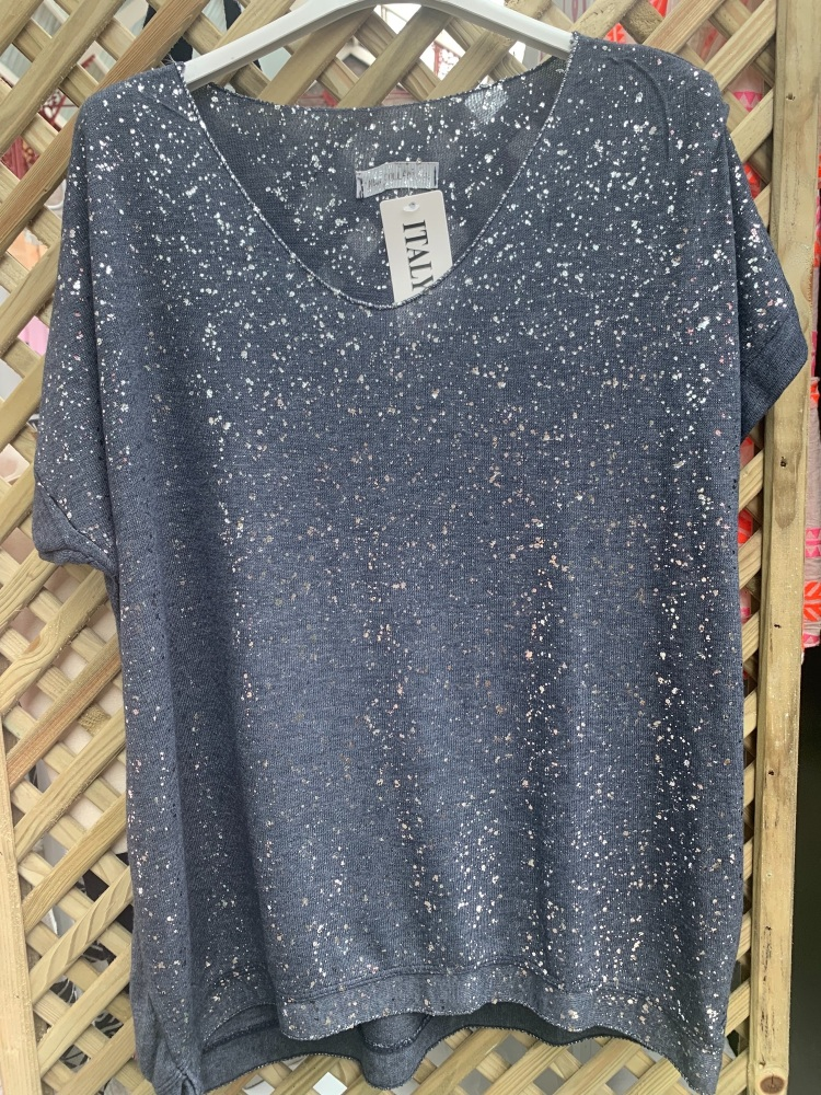 Splatter Tee Shirt - MORE COLOURS AVAILABLE