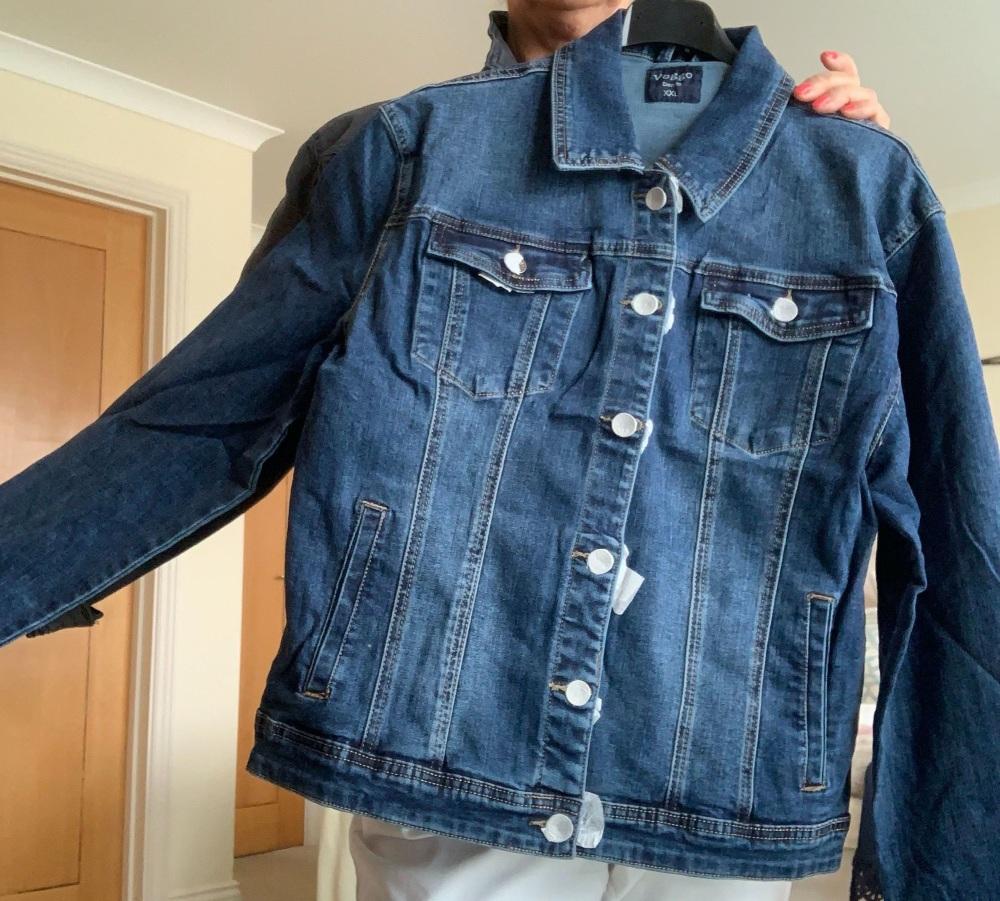 Super Soft Classic Blue Denim Jacket