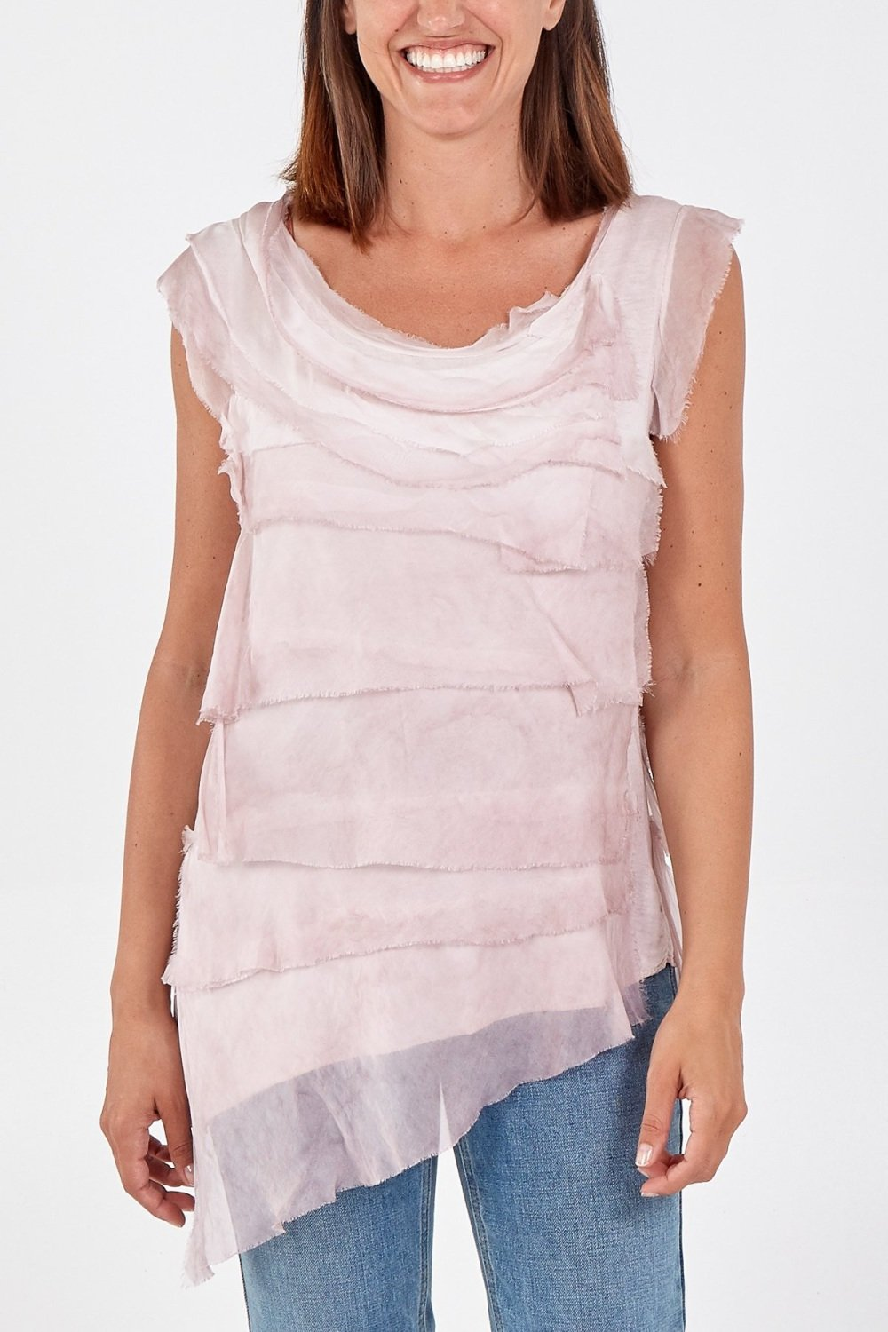 Layered Silk Top - MORE COLOURS AVAILABLE