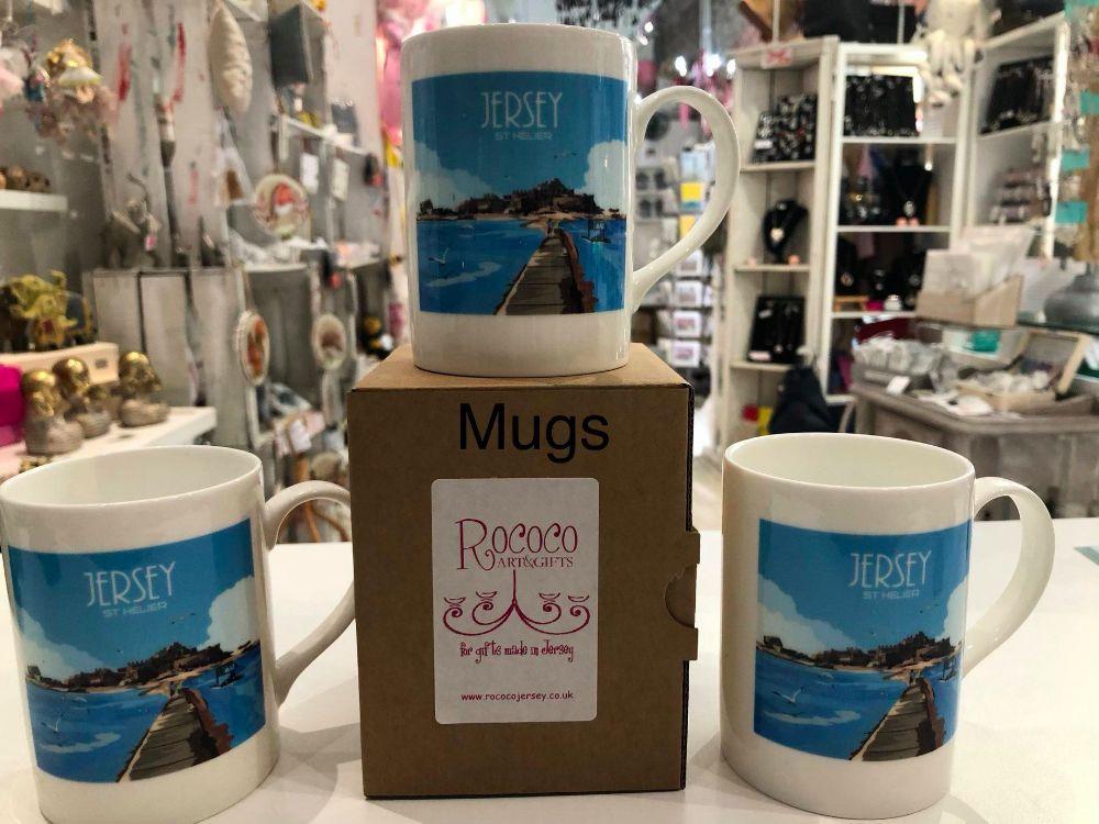 Designer Mugs by Jersey Artists