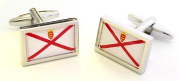 Jersey Flag Cufflinks WERE £14.95 NOW £10.00